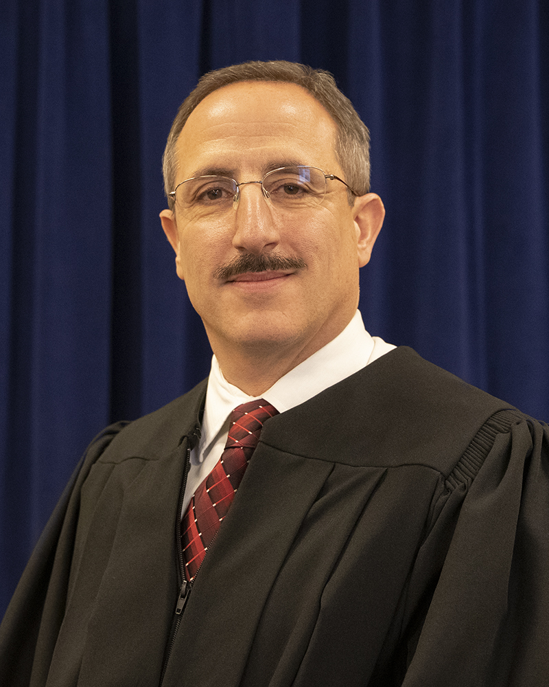 Photograph of Judge Aram Ohanian